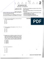ACT Practice Test #2 Form 71E With Answers