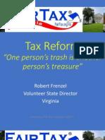 FairTax Presentation 2014 - Bob Frenzel