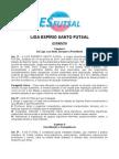 Estatuto Da Liga ES Futsal