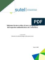Informe Uso Espectro 2009