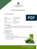 Formato y Ejemplo Informe Caso Real