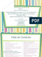 Fichas Bibliográficas APA