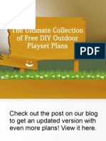 Ultimate List of 28 DIY Playset Plans
