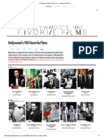 Hollywood's 100 Favorite Films - Hollywood Reporter