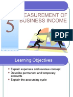 Topic 5 - Measurement of Business Income