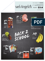 Michael-Angelo's Biweekly Flyer - Back To School