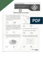 Matemáticas y Olimpiadas- 2do de Secundaria Conamat 2013 Lima