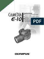 E-10 Instructions English