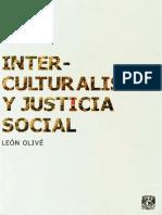 129826622 Olive Interculturalismo y Justicia Social