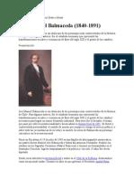 Balmaceda y La Guerra Civil de 1891