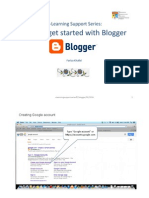 How To Get Started with Blogger