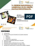 Seguridad, Higiene Industrial e Impacto Ambiental de Las PIantas Industriales