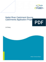Nattai River eWater Source Catchments Model Case Study