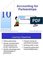 Topic 10 - Accounting for Partnerships