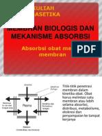 03-Membran Biologis Dan Mekanisme Absorbsi