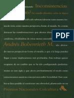 Andrés Bobenrieth Miserda Inconsistencias. ¿Por Qué No Un Estudio Filosófico Sobre La Lógica Paraconsistente 1996