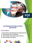 Networking with Organizations