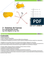 2- Sistemas de Fuerzas