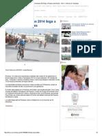 01-09-2014 'Vuelta a Tamaulipas 2014 Llega a Reynosa Este Martes'