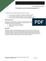 Práctica de Laboratorio 11.5.6 Estudio de Caso Final Análisis de Datagrama Con Wireshark
