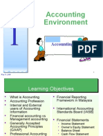 Topic 1 - Accounting Environment