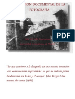 Dimencion Documental de La Fotografia