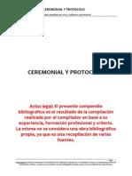 Apuntes Ceremonial y Protocolo