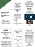 Bulletin September 2014