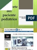 Transporte Del Paciente Pediátrico