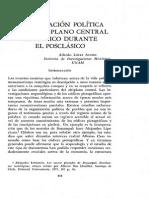 Organizacion Politica en El Altiplano