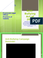 Anti-Bullying Act Philippines