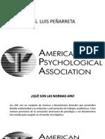 Normas APA Ciencia y Tecnologia