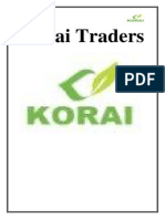 Korai Traders Final Report