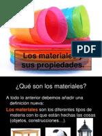 Los Materiales y Sus Propiedades1