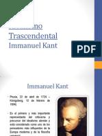 Idealismo Trascendental Immanuel Kant