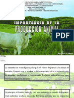 1.-Importancia de La Produccion Animal