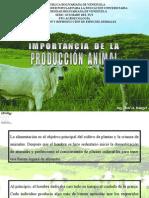1.-Importancia de La Produccion Animal