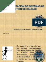 Documentacion de Sistemas de Gestion de Calidad (Iso 10013-2001)
