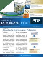 Newsletter Tata Ruang dan Pertanahan (TRP) Edisi I/Februari 2014