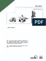 Manual de Bombas Ksb Itur Rc2 y Garantia