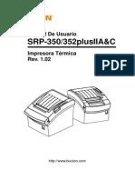 Manual Srp-350352plusiiac User Spanish Rev 1 02