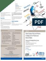 ILO ETF Course Career Guidance Flyer