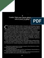 Gameros 2006 Cumbre Tajín como espacio global puente entre lo local y lo global.pdf