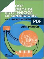Métodos y Modelos de Investigación de Operaciones Vol I Modelos Deterministicos
