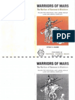 Warriors of Mars RPG