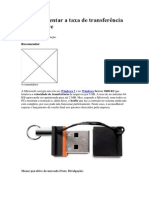 Como aumentar a taxa de transferência do pen drive.docx
