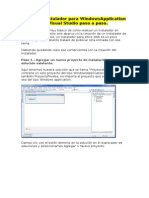 Crear Un Instalador Para WindowsApplicati