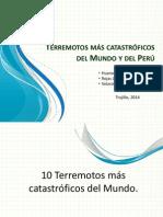 Terremotos Más Catastróficos Del Mundo y Del Perú