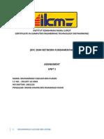 Kfc 2044 Network Fundamental