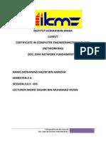 Assignment Network Fundamental 2044